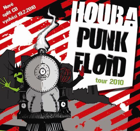 Houba punk floid tour 2010 startuje 19 2 2010 nové split cd