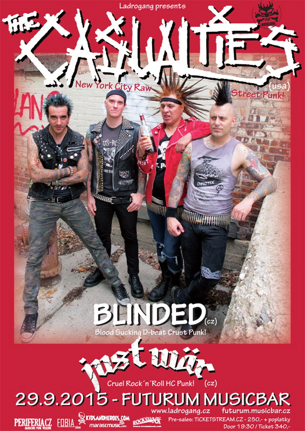The Casualties (usa) - 29.9.2015 - Futurum Musicbar
