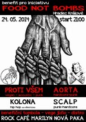 Benefi�n� koncert pro iniciativu Food Not Bombs