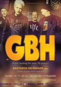 Pozv�nka: GBH (uk), BASTARDS ON PARADE (esp)