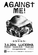 Against Me! (USA) 3.6.2014 � 20.00 Lucerna Music Bar - Praha