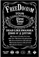 FreeDo(o)m Tour: DEAD LIKE SWANSEA, ECHOES OF A LIFETIME
