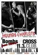 Hounds and Harlots v �ter� 11.3. v Cross Clubu