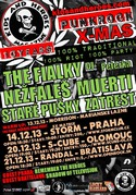 Tradi�n� Kids and Heroes Punkrock Xmas se rozjedou hned do �ty� m�st