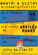 Brat�i a Sestry - Alternative punk fest