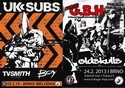 �nor v Brn� bude pat�it UK SUBS a GBH!
